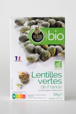 Lentilles vertes Bio France...
