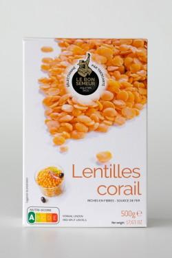 Lentilles corail 500g - Le...