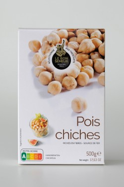Pois chiches 500g - Le Bon...