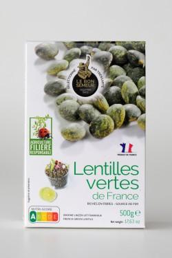 Lentilles vertes France...