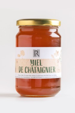 Miel de Châtaignier 400g -...