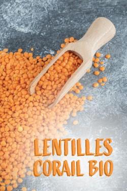 Lentilles corail Bio vrac...
