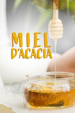 Miel d'Acacia en vrac -...